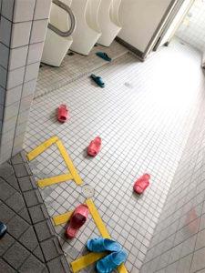 学校のトイレ